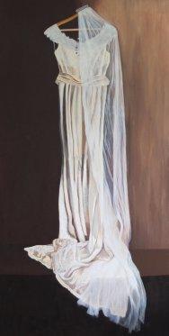 "'Clare's Dress' 60 x 30"""