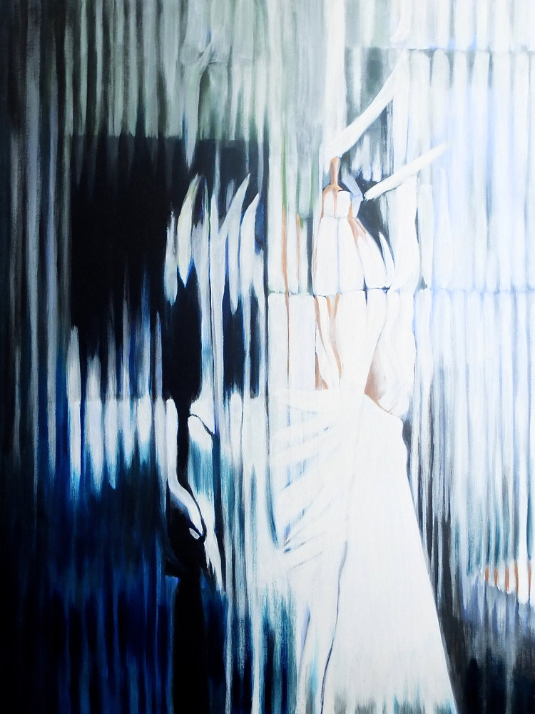 Light Striped' 100cm x 80cm