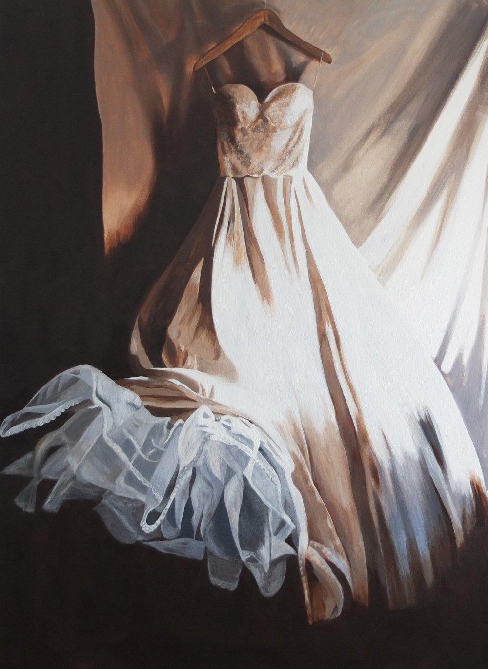 Lucy's Dress- 40 x 30
