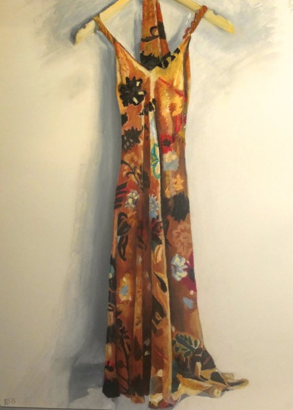 The Velvet Dress- 85cm x 60cm