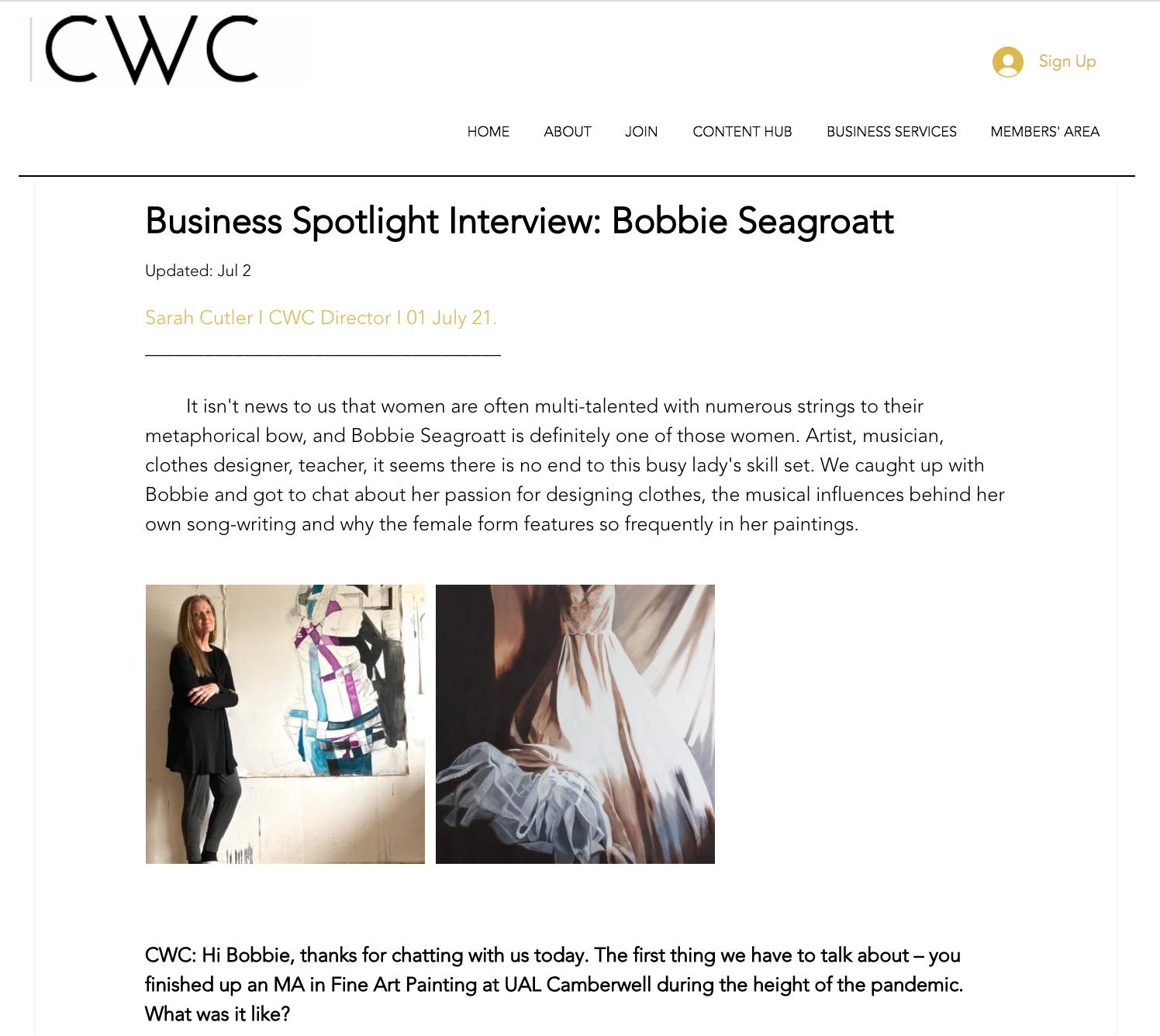 CWC Interview screenshot